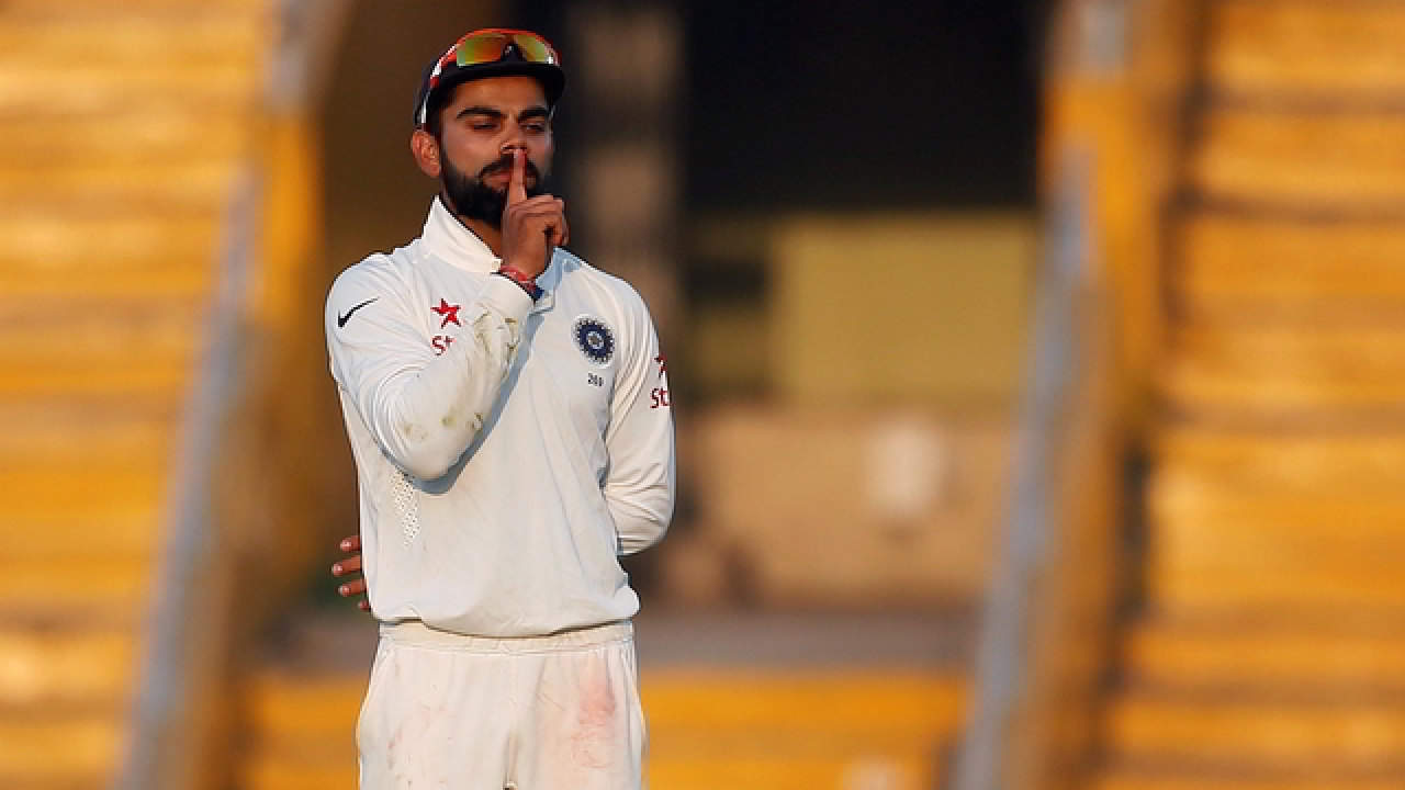 Farzi Times: Virat Kohli to tape his mouth shut for sixth ODI