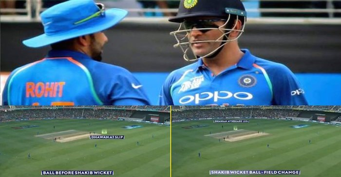 MS Dhoni had plotted Shakib Al Hasan's wicket