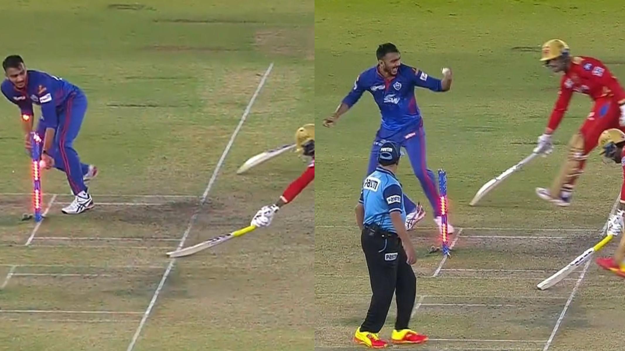 IPL 2021: WATCH- Deepak Hooda gets run-out in hilarious fashion as both batsmen end up at the same end