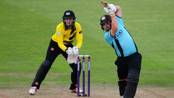 Aaron Finch continues his good form in Vitality T20 Blast for Surrey