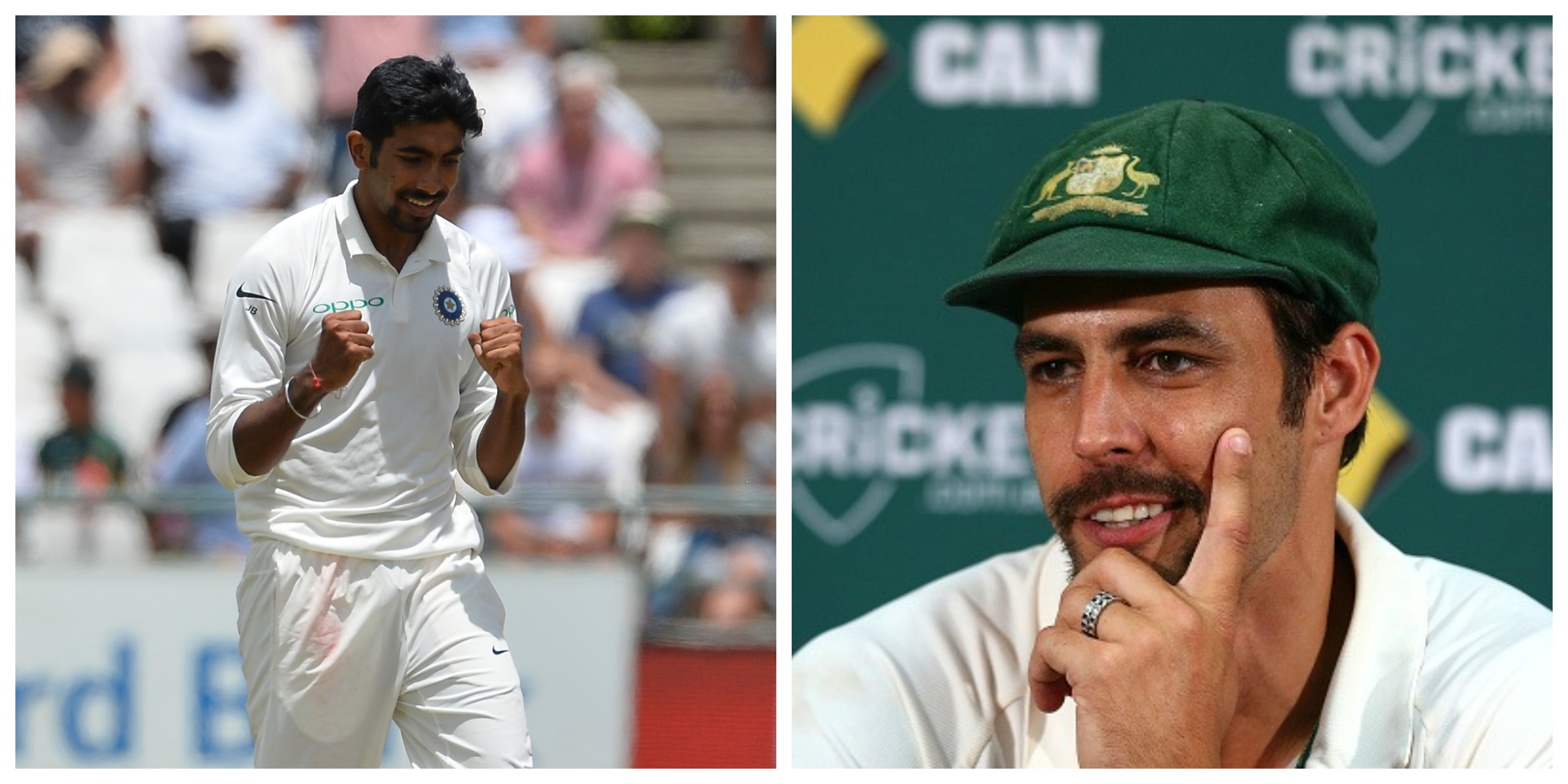 Johnson is very impressed with young Jasprit Bumrah's rise at the highest level. (Getty)