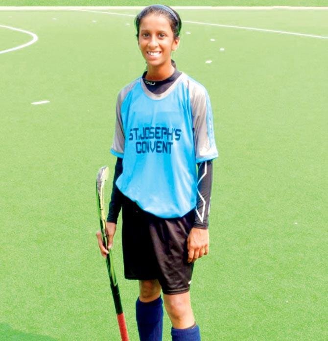 Jemimah has played hockey for Maharashtra team
