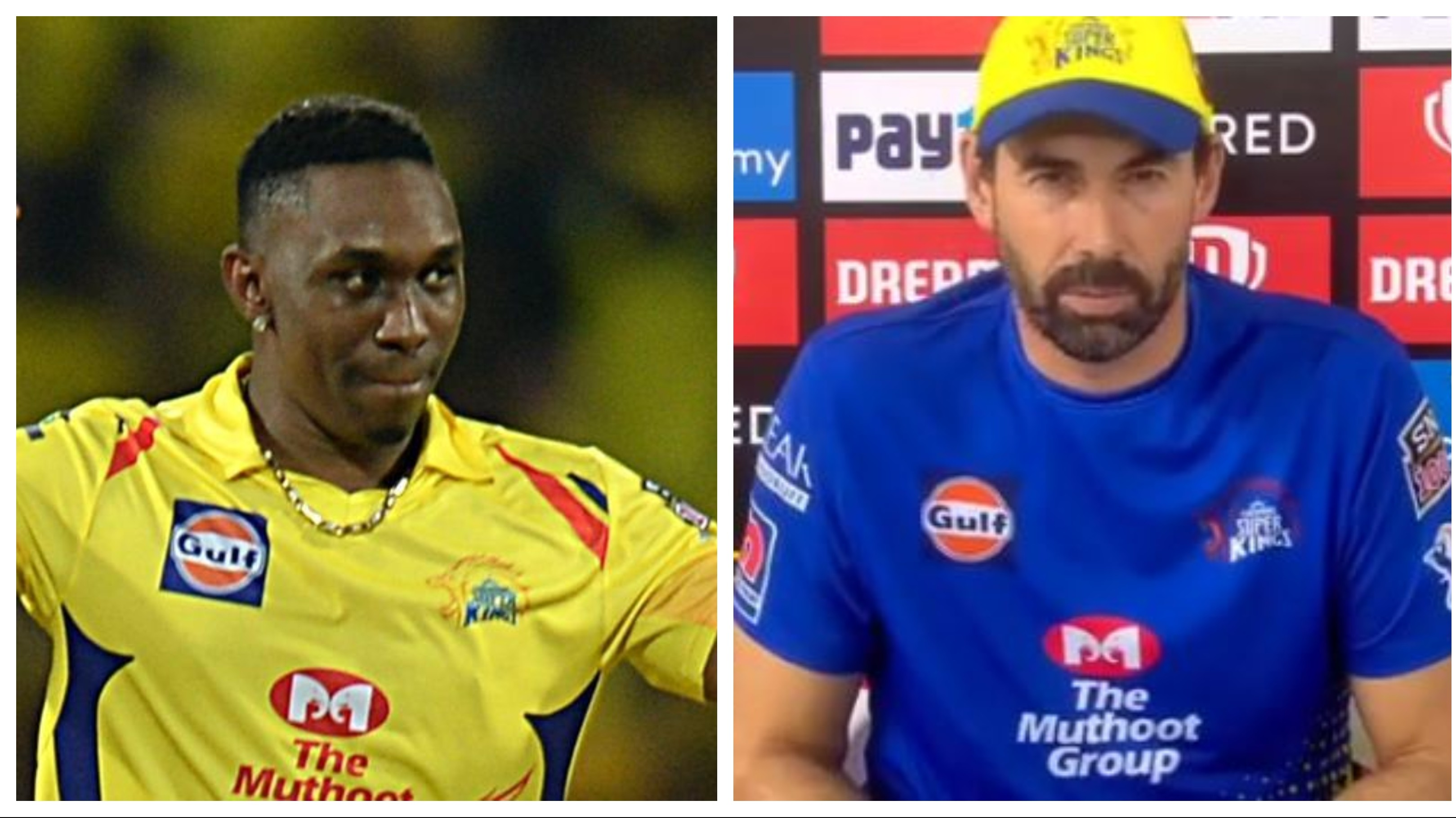 IPL 2020: Stephen Fleming says Dwayne Bravo could be out for