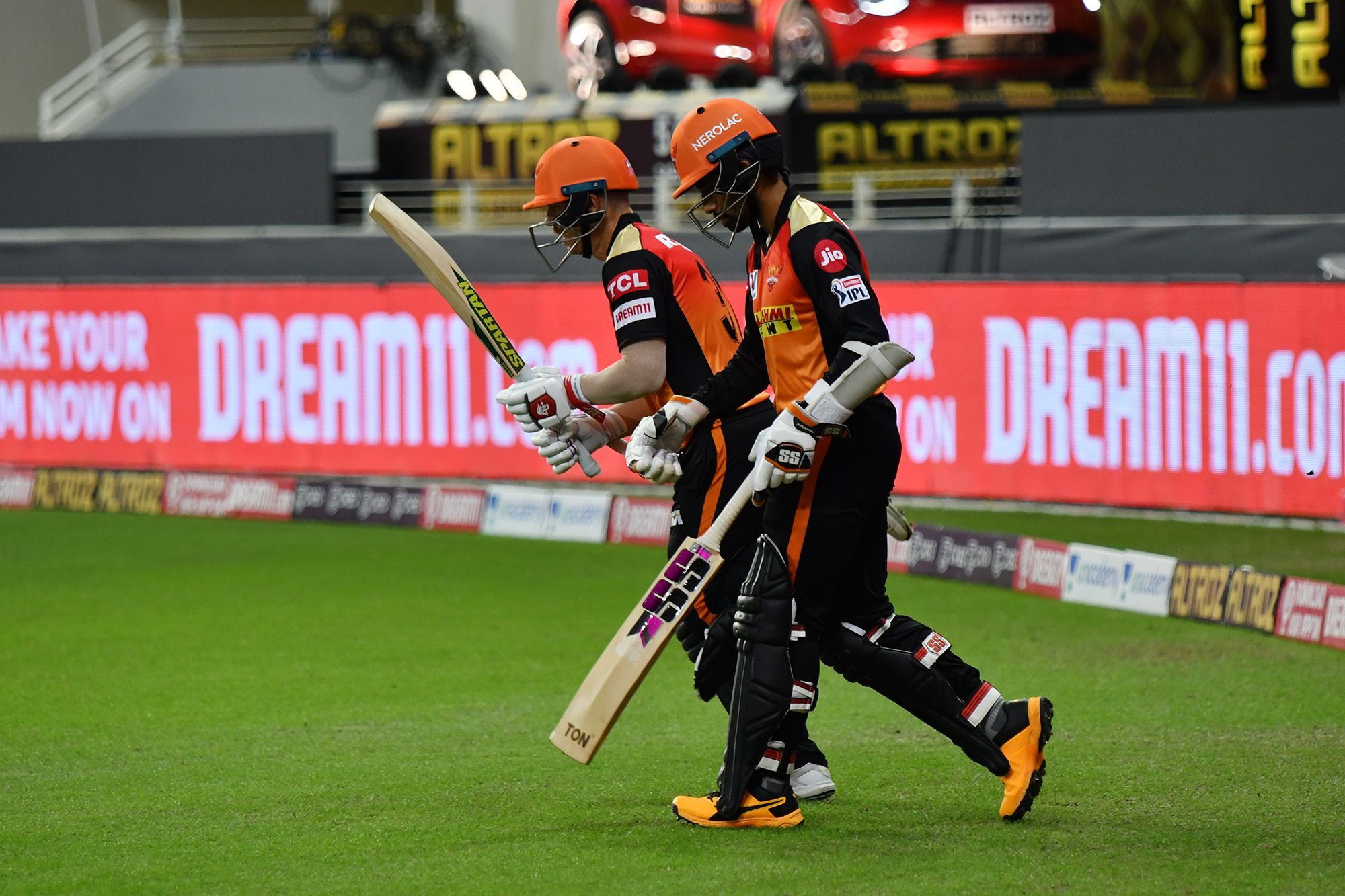 Warner and Saha have gelled well at the top for SRH | BCCI/IPL