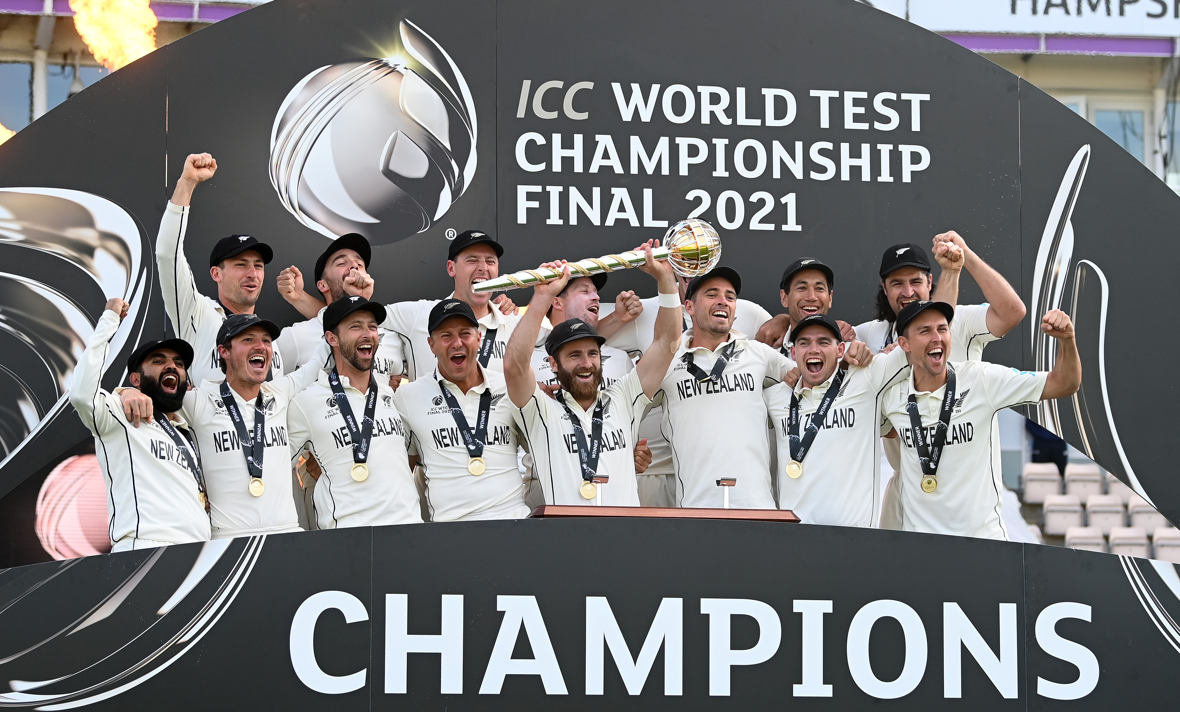 New Zealand was crowned ICC WTC champion after beating India | Getty