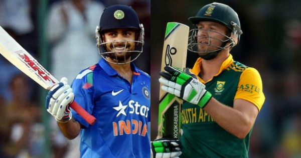 AB de Villiers and Virat Kohli - the best T20 players of their respective teams