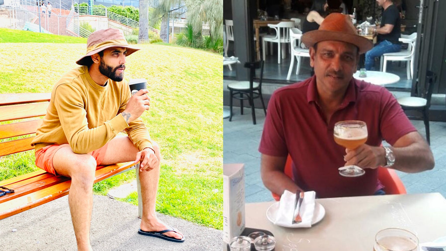 AUS v IND 2020-21: Fans ask Jadeja to stay away from Shastri after his
