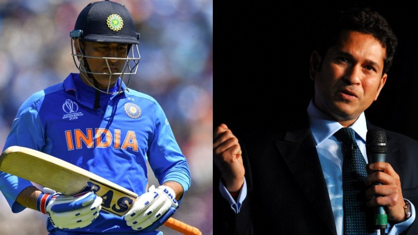 CWC 2019: Sachin Tendulkar wants MS Dhoni to show some intent in his batting