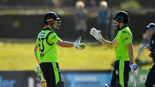 Ireland defeats Scotland by 4 wickets in 3rd match thanks to fifties from Balbirnie and Delaney