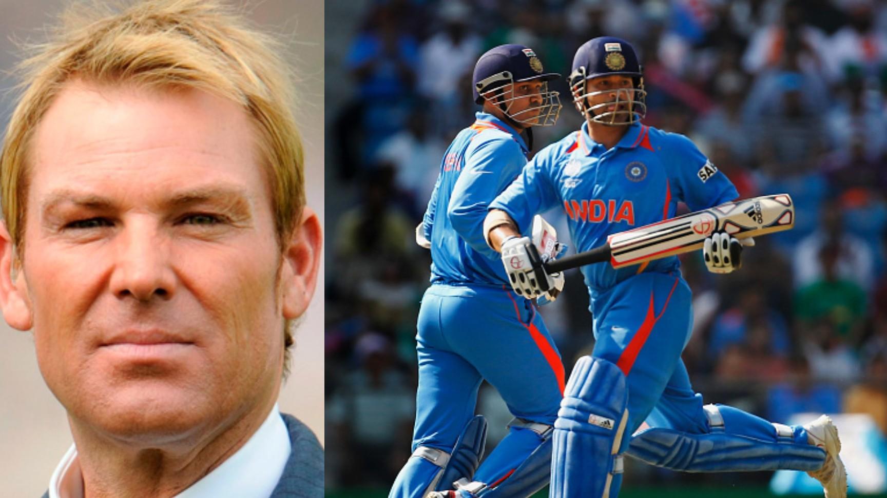 Shane Warne includes Sachin Tendulkar and Virender Sehwag in his all-time ODI XI