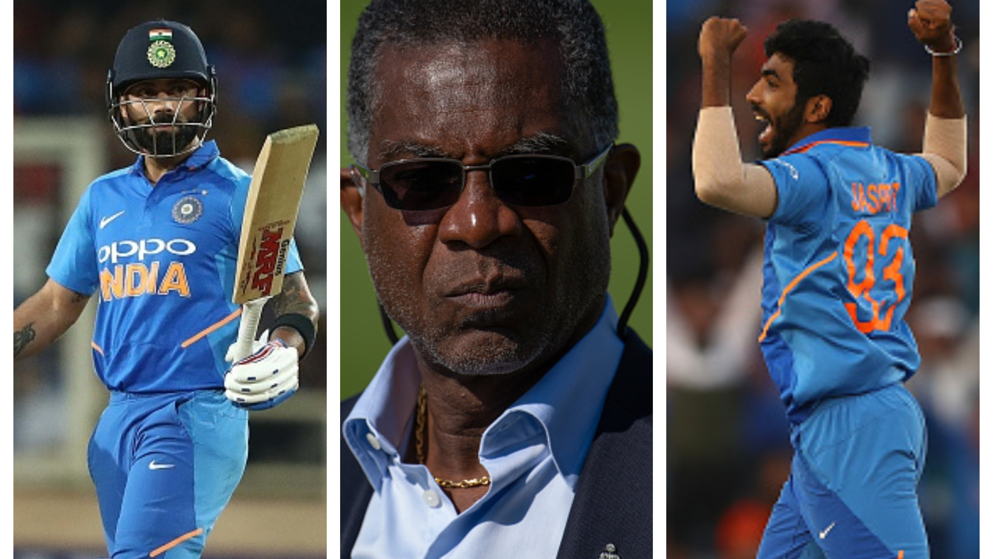 CWC 2019: Kohli and Bumrah will be x-factors for India at the World Cup, says Michael Holding