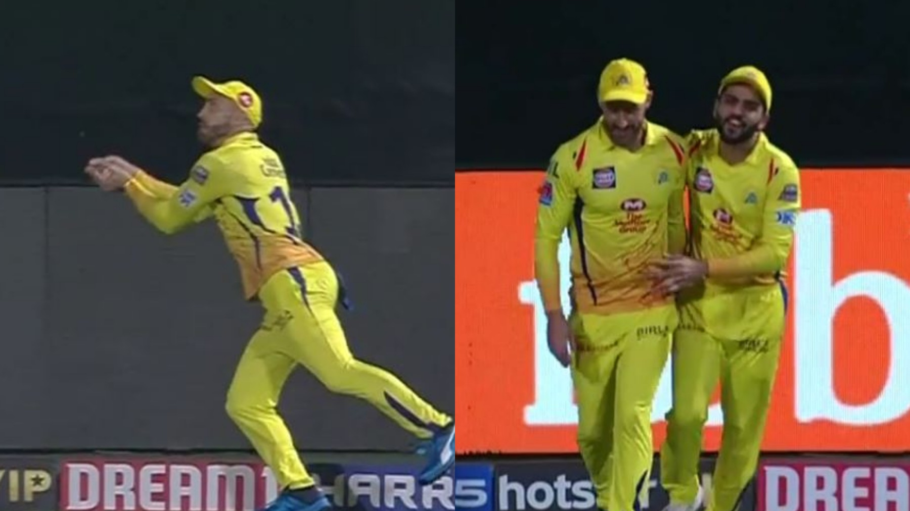 IPL 2019: WATCH – Amazing Faf du Plessis-Dhruv Shorey relay catch sends Stoinis back
