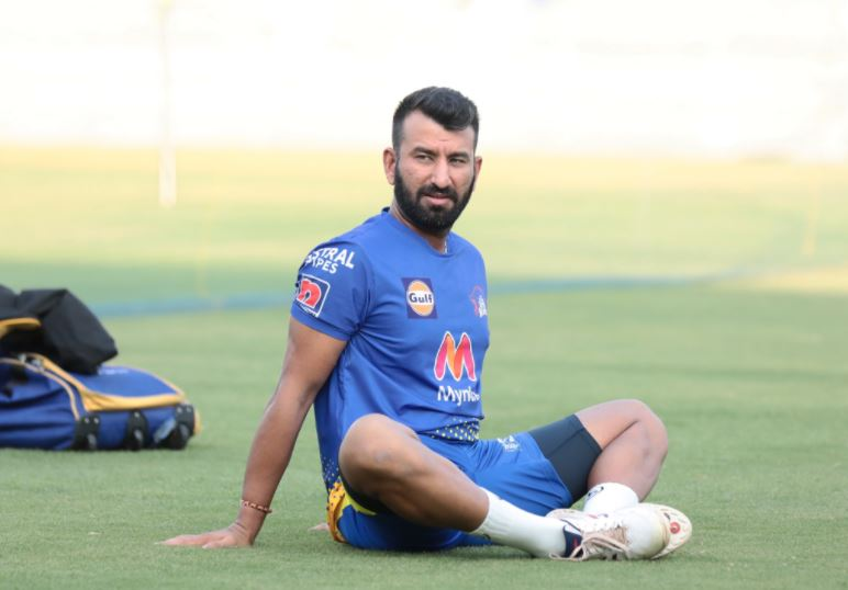 Cheteshwar Pujara will be playing for Chennai Super Kings in the 14th edition of the Indian Premier League | Twitter