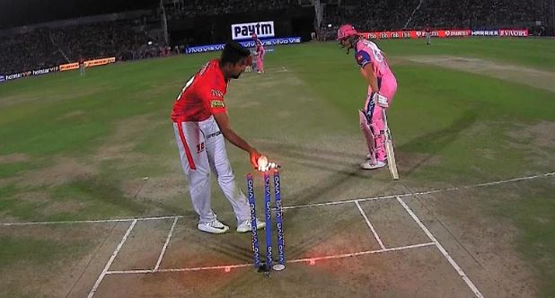 The incident took place last year when Ashwin was with Kings XI | Twitter