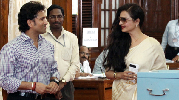 Rajya Sabha tenures of Rekha and Sachin Tendulkar to end in April 2018