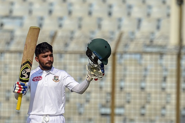 Mominul Haque celebrates his 8th Test ton | Getty Images