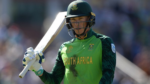 Rassie van der Dussen awarded with CSA central contract