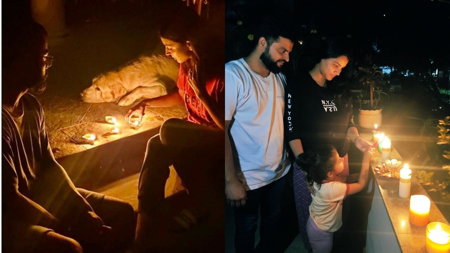 Indian cricketers share their participation in PM Modi's call to light candles at 9 pm on April 5