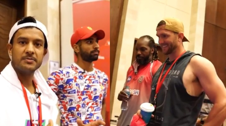 IPL 2020: WATCH - Mayank Agarwal and Harpreet Brar give KXIP fans tour of the team room