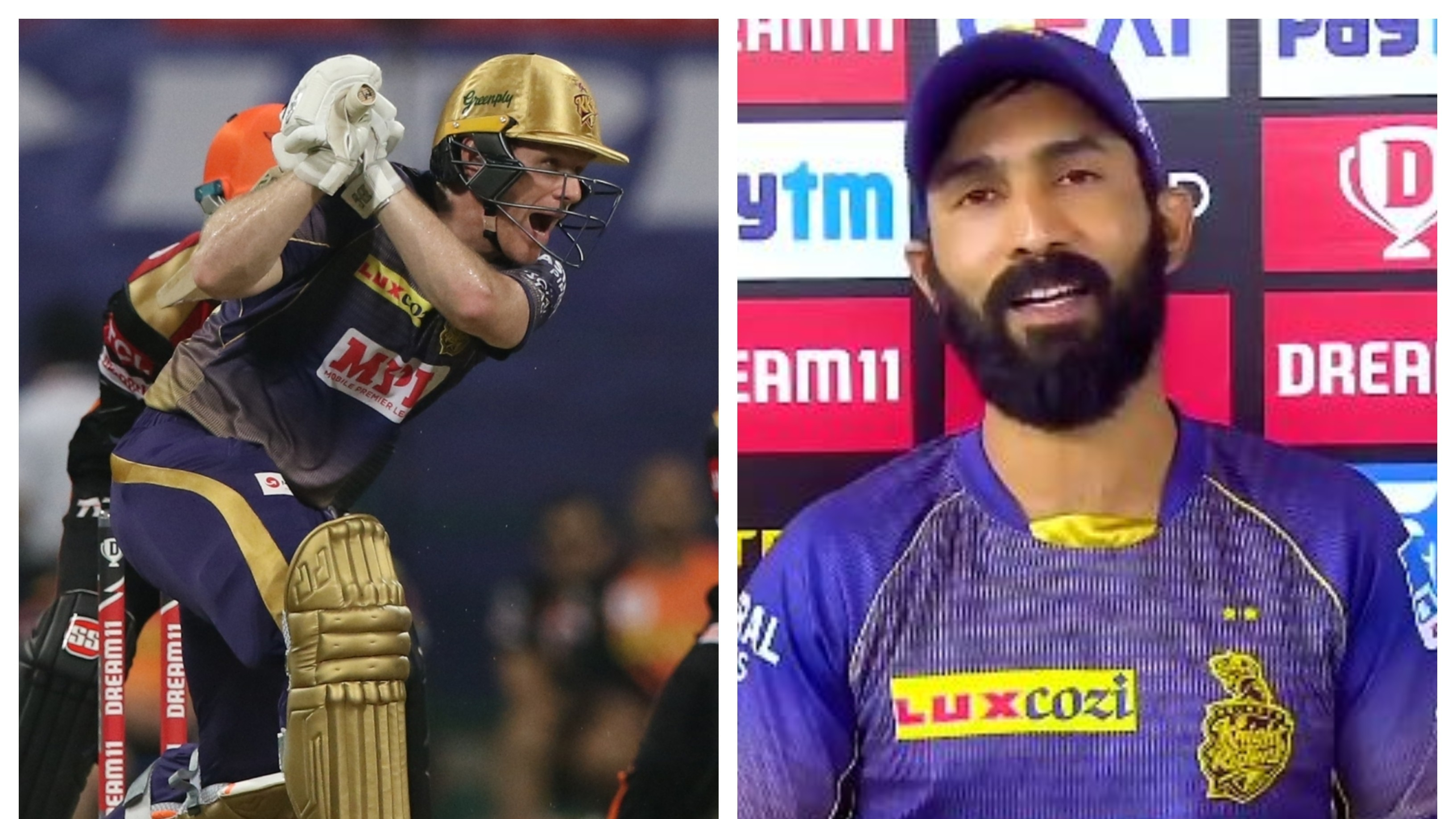 IPL 2020: Cricket fraternity reacts as Karthik hands over KKR captaincy to Morgan