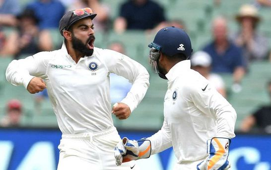 Virat Kohli's joyous celebrations after fall of wickets has irked Australian crowd, players and former players | GETTY