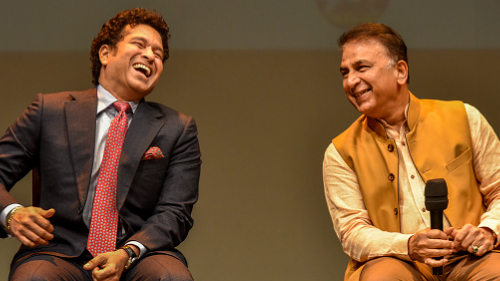 Watch: Sachin Tendulkar and Sunil Gavaskar dancing on Jhingaat