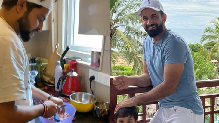 WATCH - Suresh Raina cooks in a traditional handi, leaves Irfan Pathan watery mouth