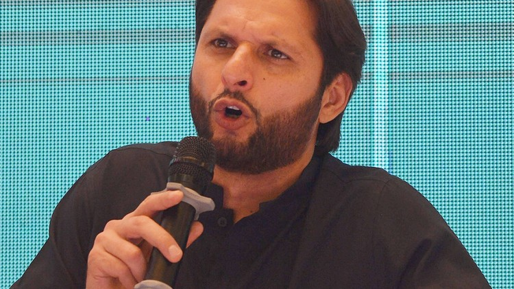 Shahid Afridi talks about