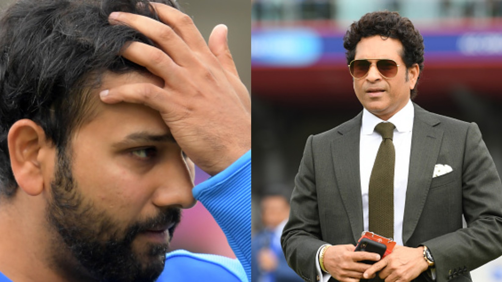CWC 2019: Sachin Tendulkar says that he feels bad for Rohit Sharma; mentions time is the best healer
