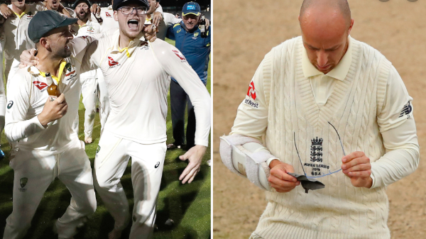 "ASHES 2019: Australian photographer clarifies Steve Smith's ""glasses celebration"" at Old Trafford"