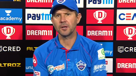 IPL 2020: DC head coach Ricky Ponting admits being