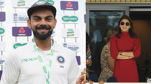 ENG v IND 2018: Virat Kohli dedicates his Man of the Match award to wife Anushka Sharma