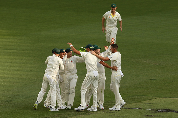 Australia in sight of series leveling win at Perth | Getty Images