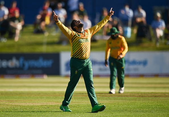 Tabraiz Shamsi was man of the match in first T20I of the series against Ireland | Getty