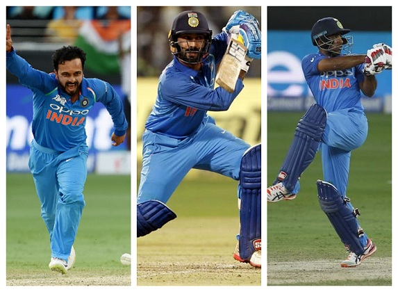 India tried Dinesh Karthik, Kedar Jadhav and Ambati Rayudu in the middle order in Asia Cup 2018 | Getty