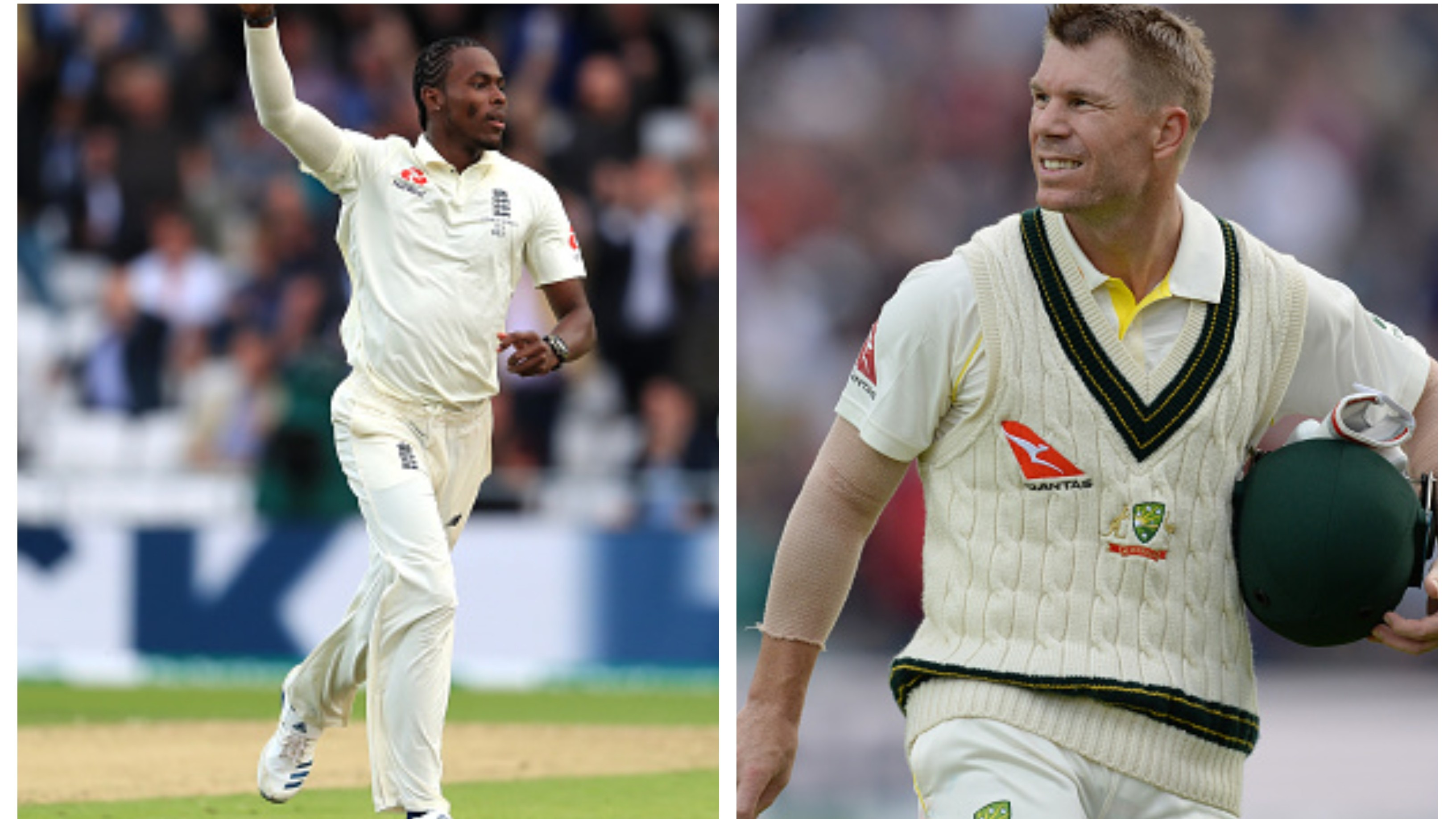 "ASHES 2019: David Warner in awe of Jofra Archer's ""world-class bowling"" at Headingley"