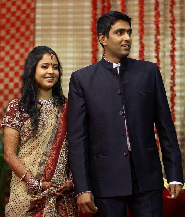 R Ashwin with Prithi