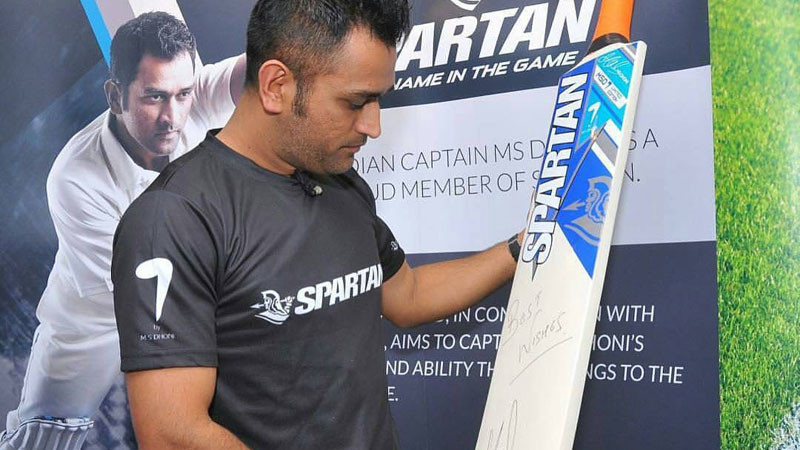 MS Dhoni's bat sponsor Spartan facing financial crisis; owes $2 million to the former Indian captain
