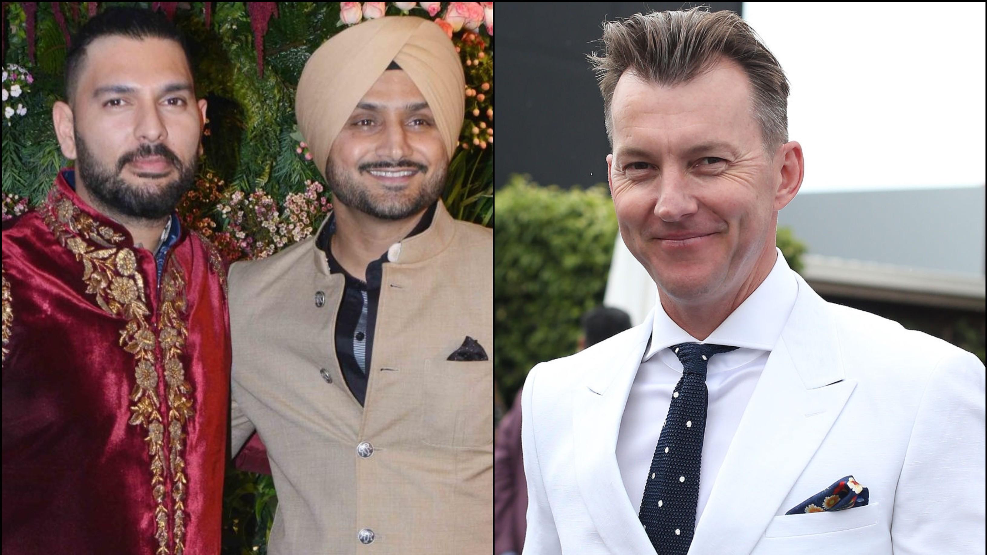 युवराज सिंह और हरभजन सिंह ने ब्रेट ली को दी मजाकिया ढंग से जन्मदिन की बधाई