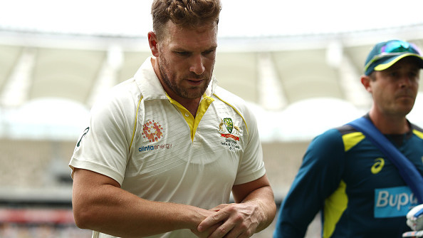 AUS v IND 2018-19: Status update on Aaron Finch's finger injury