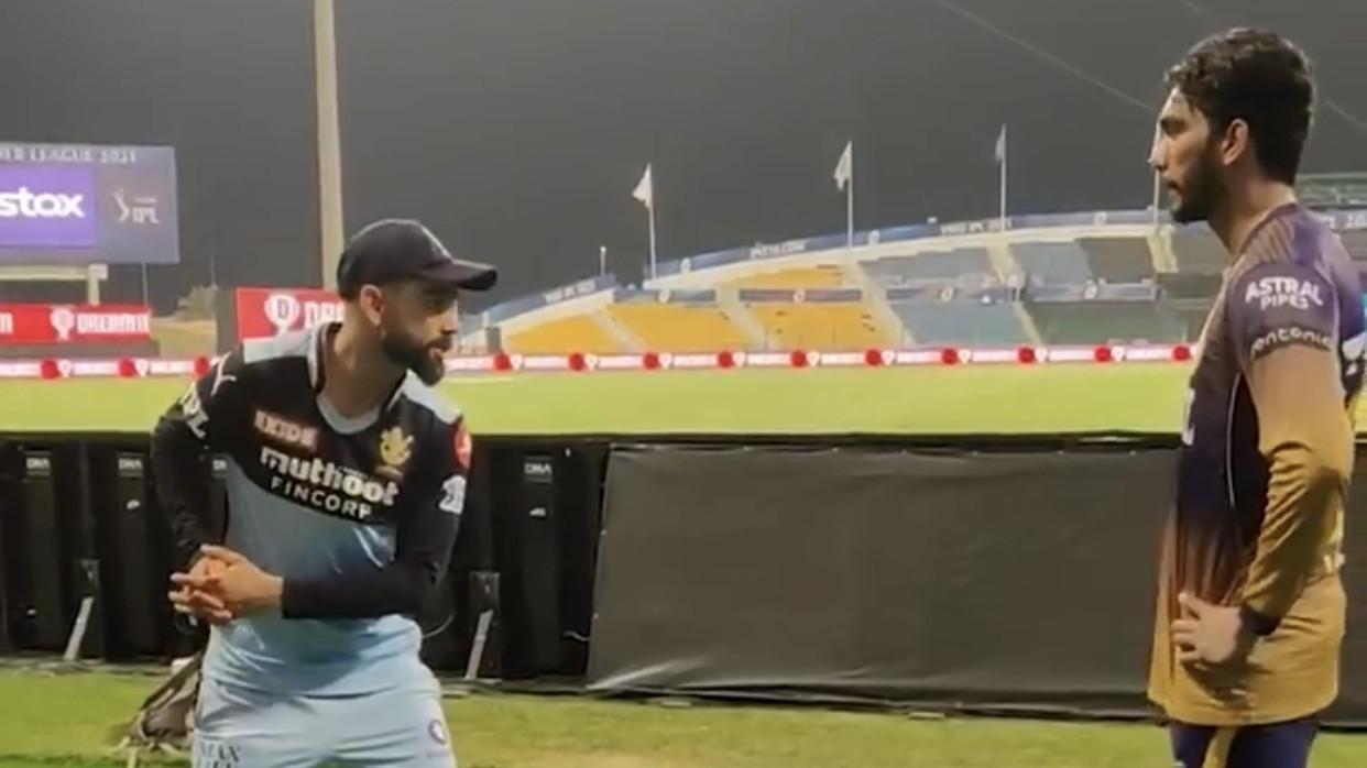 IPL 2021: WATCH - RCB captain Virat Kohli shares tips with KKR debutant Venkatesh Iyer