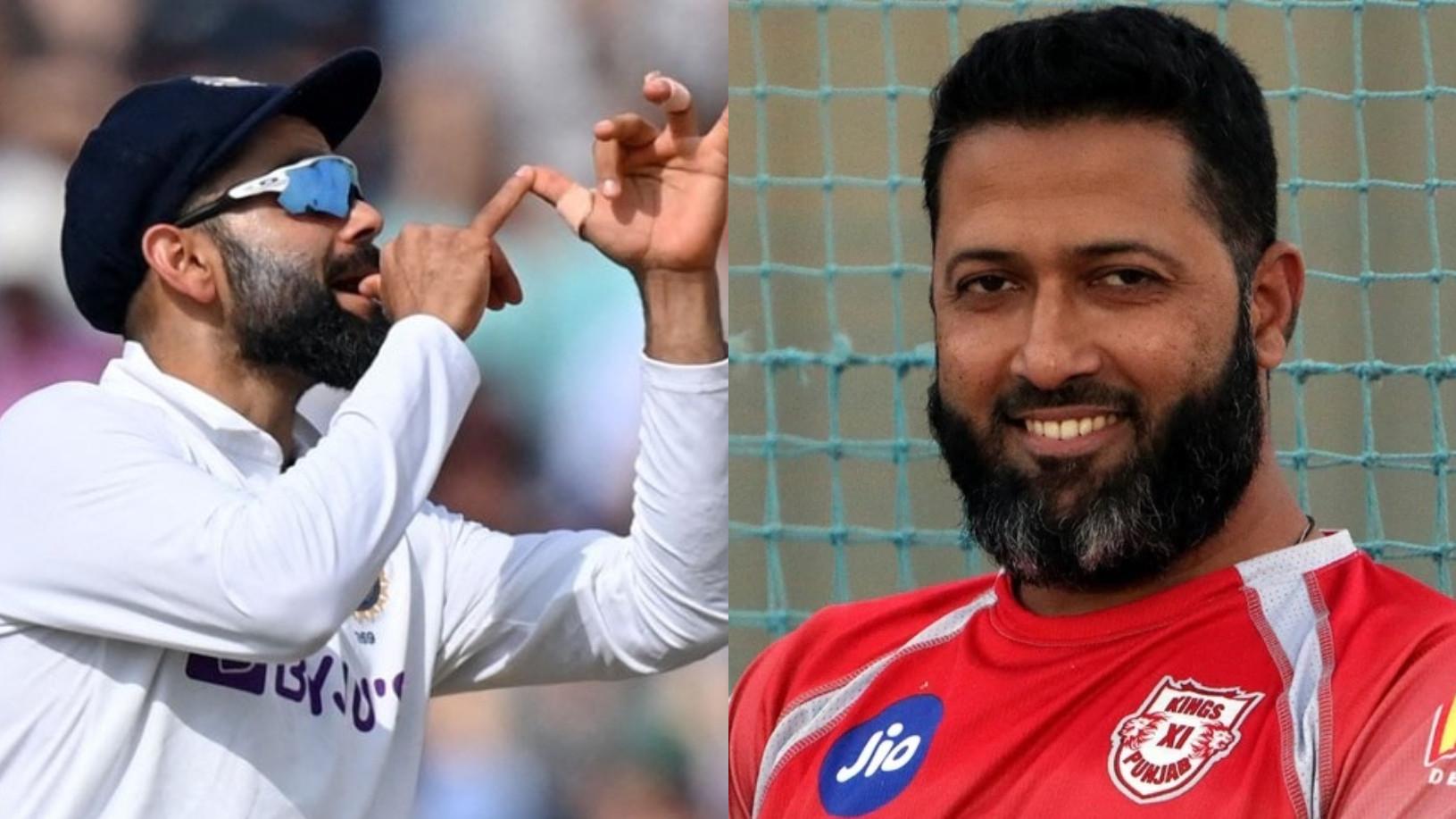ENG v IND 2021: Wasim Jaffer corrects Fox Cricket's 'classless' caption for Virat Kohli's trumpet gesture