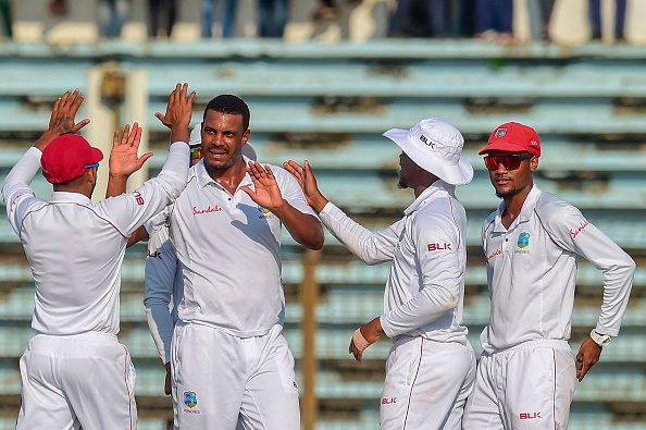 Shannon Gabriel took four wickets on Day 1 in Chittagong | Getty Images