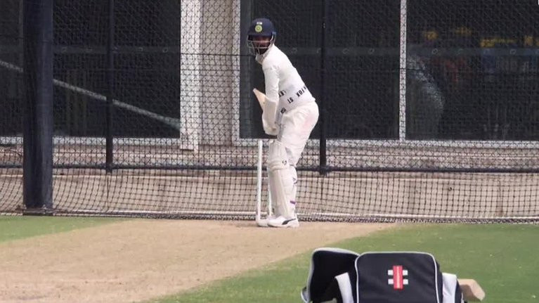 AUS v IND 2018-19: WATCH – KL Rahul hits the SCG nets soon after his dismissal