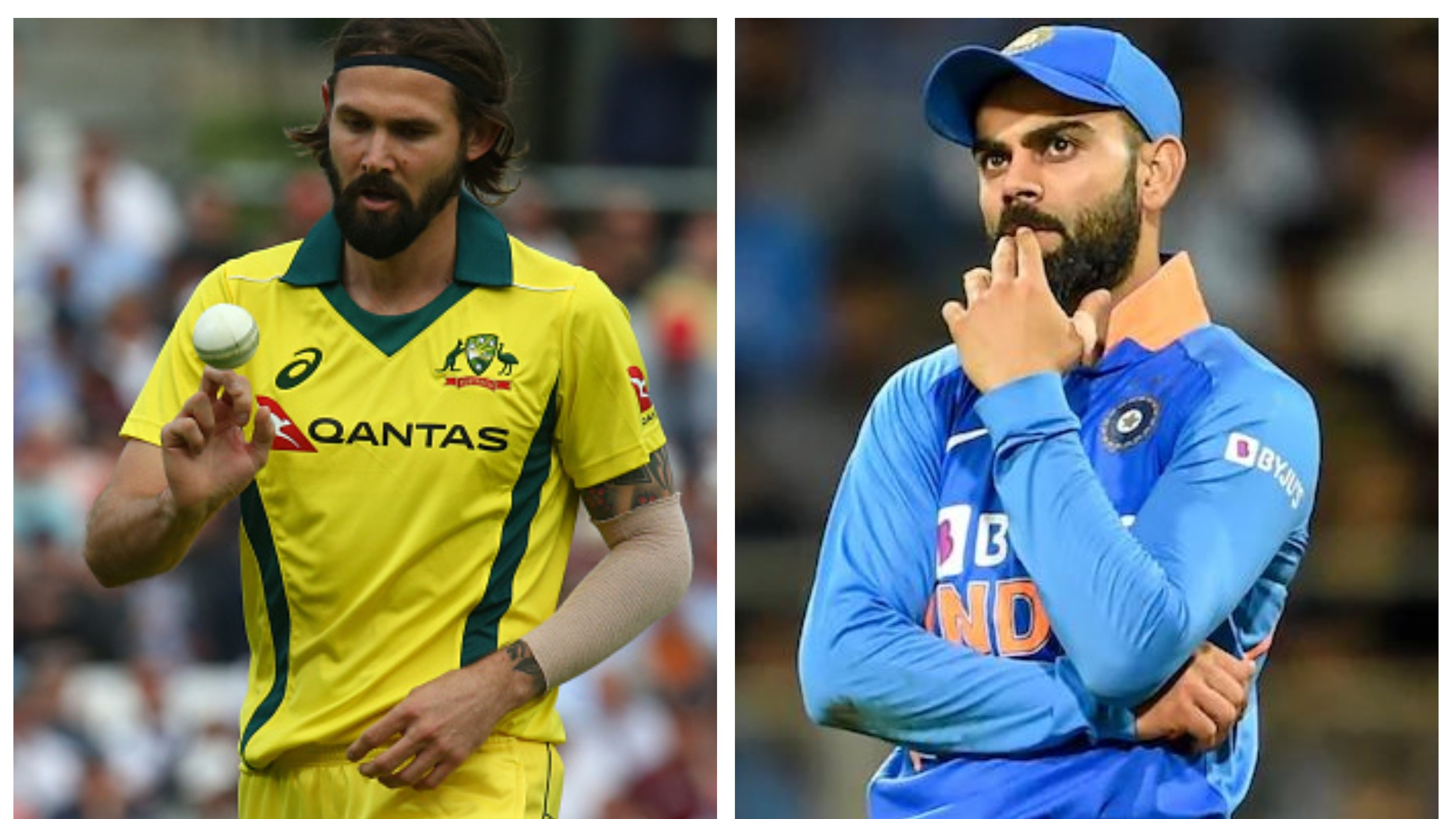 IND v AUS 2020: Richardson reveals tips received from fellow vegan Virat Kohli