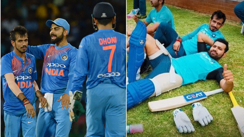 Yuzvendra Chahal points out similarities in the captaincy styles of Dhoni, Kohli and Rohit