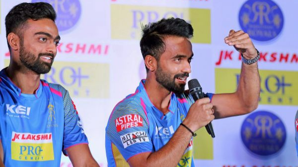 IPL 2018: Ajinkya Rahane thanks Rajasthan Royals family for their support in the tournament