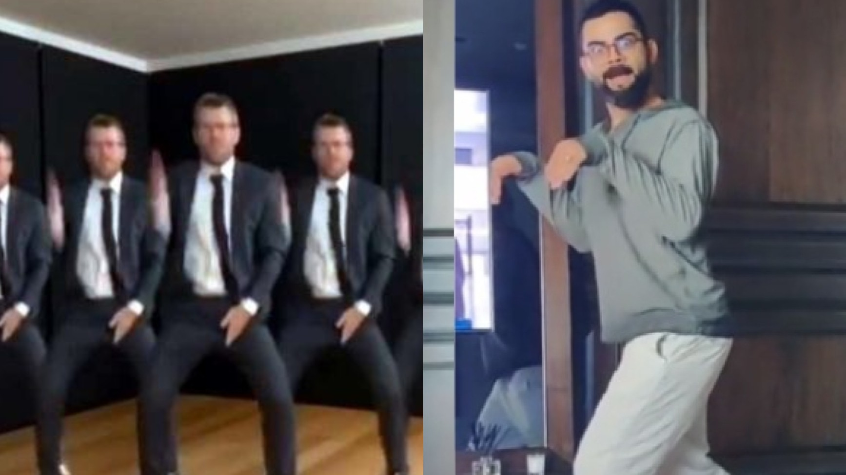 Virat Kohli says he will respond to David Warner who is 'after his life' to make a TikTok video