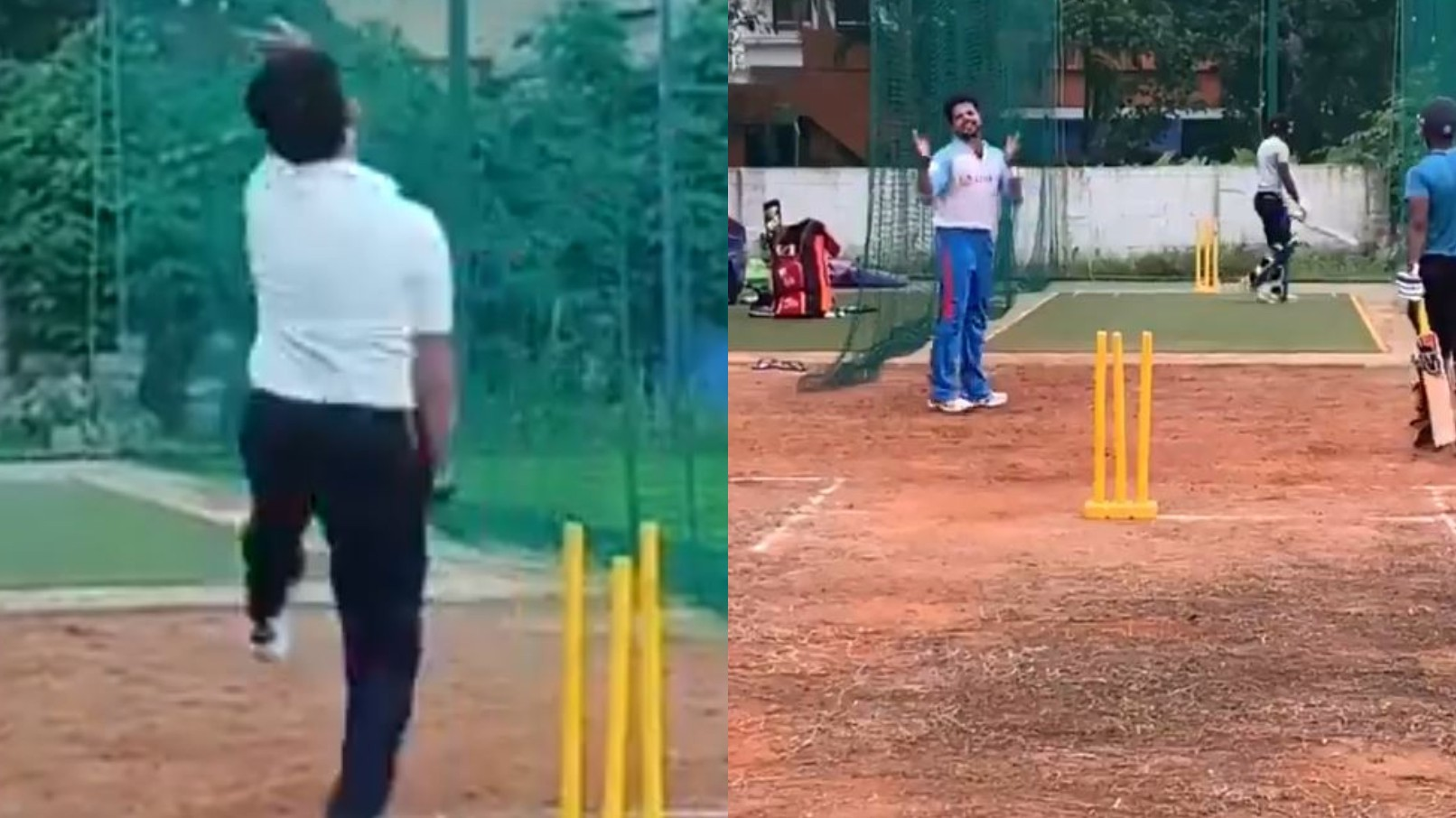 """WATCH- """"It's the best feeling"""" Sreesanth shares videos of him bowling in nets"""