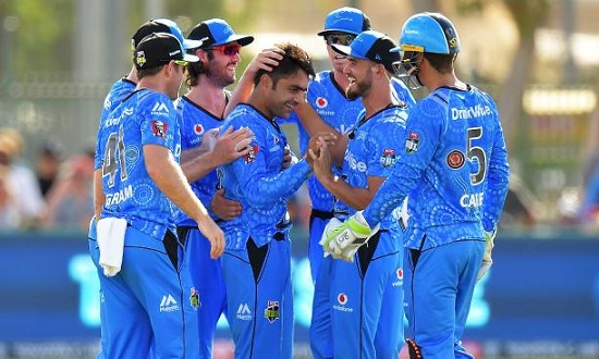 Rashid Khan to take his Adelaide Strikers teammates out for dinner after cracking IPL contract